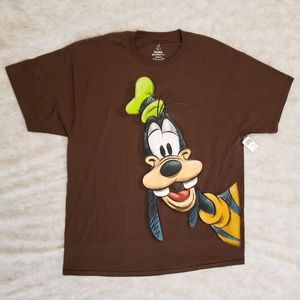 Disney's Goofy Shirt With Back Graphic